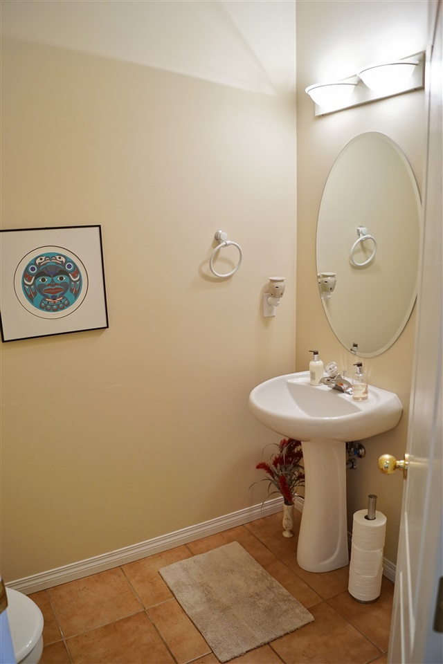 16) Half bath on main floor