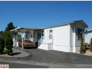 "Main Photo: 147 1840 160 Street in Surrey: King George Corridor Manufactured Home for sale in ""BREAK AWAY BAYS"" (South Surrey White Rock)  : MLS® # R2193562"