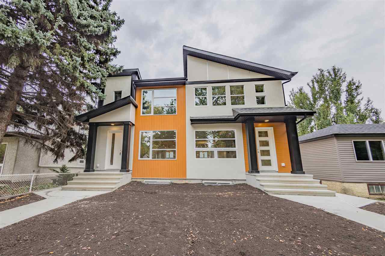 Main Photo: 11639 128 Street in Edmonton: Zone 07 House Half Duplex for sale : MLS® # E4080372
