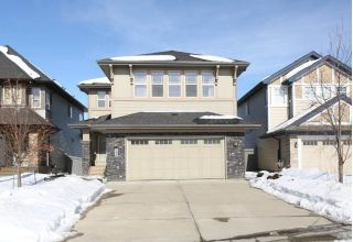 Main Photo: 435 AINSLIE Crescent SW in Edmonton: Zone 56 House for sale : MLS® # E4100286
