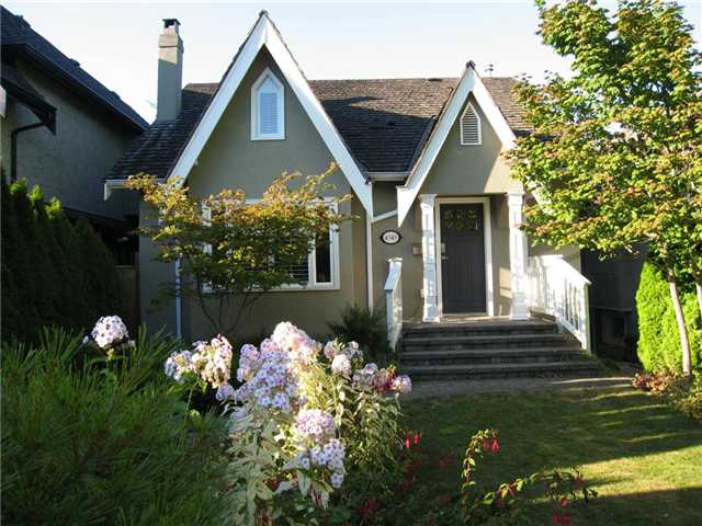 Main Photo: 4549 W 12TH Avenue in Vancouver: Point Grey House for sale (Vancouver West)  : MLS® # V968995