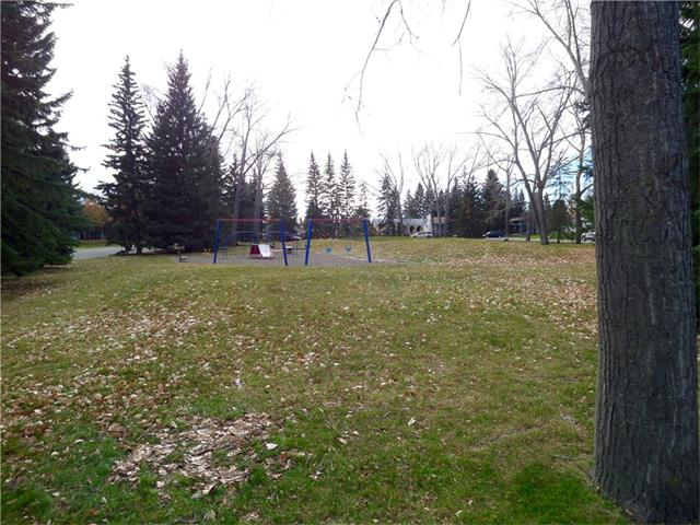 Park and green space directly across the street