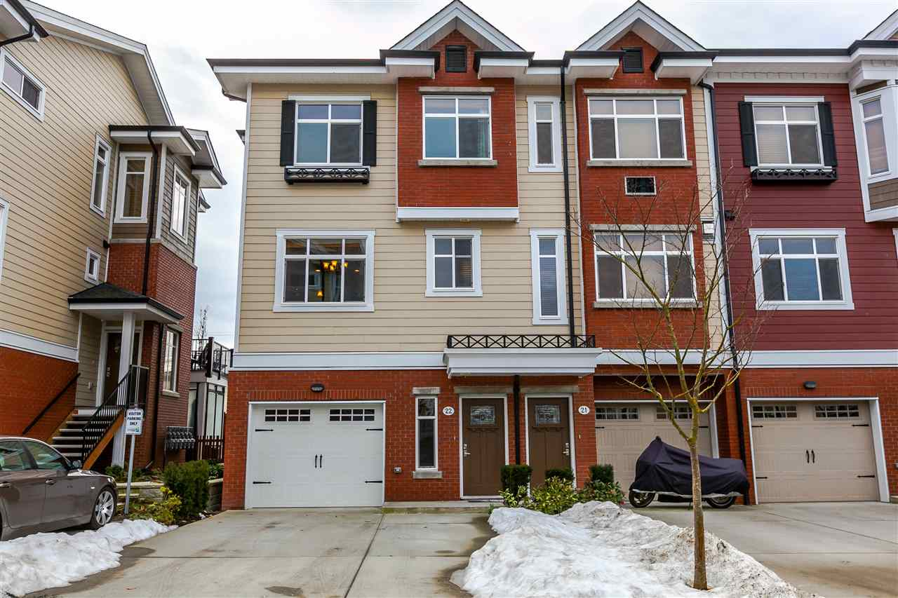 "Main Photo: 22 8068 207 Street in Langley: Willoughby Heights Townhouse for sale in ""Yorkson Creek South"" : MLS®# R2139834"