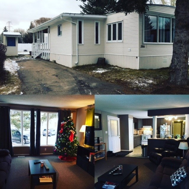 Main Photo: 266 Evergreen Park NW in Edmonton: Zone 51 Mobile for sale : MLS® # E4058631