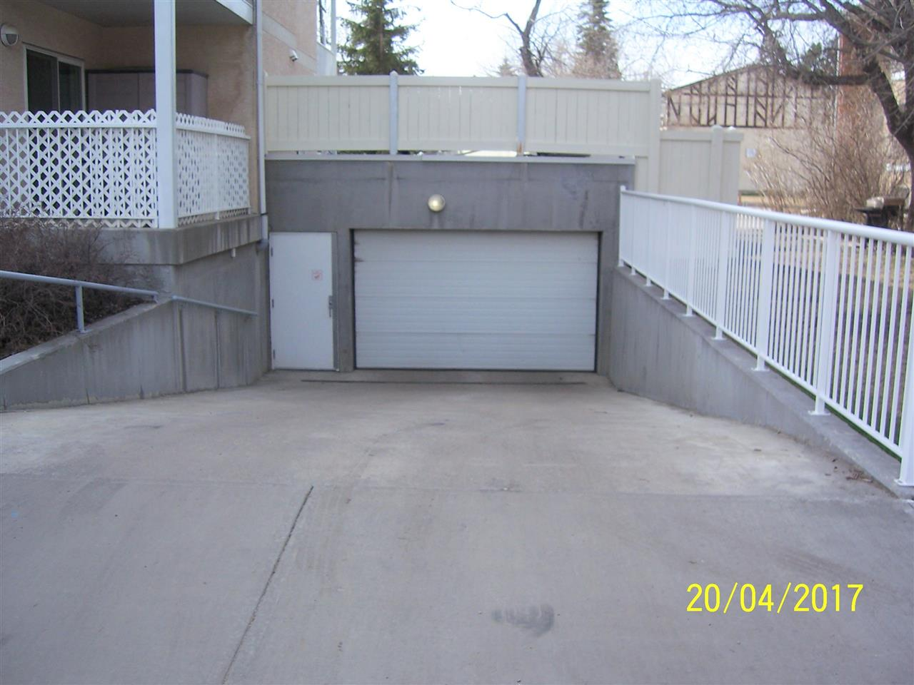 Nice big entrance allows easy access to your underground parking.