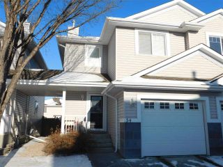 Main Photo: 54 1428 Hodgson Way NW in Edmonton: Zone 14 House Half Duplex for sale : MLS® # E4093734