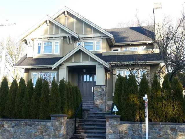 Main Photo: 3499 W 39TH Avenue in Vancouver: Dunbar House for sale (Vancouver West)  : MLS® # V1098669