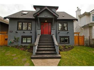 Main Photo: 844 22ND Ave E in Vancouver East: Fraser VE Home for sale ()  : MLS(r) # V995269