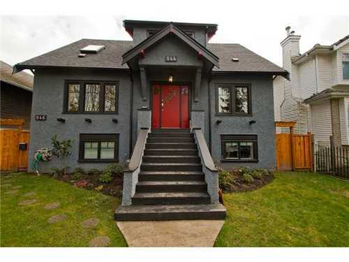 Main Photo: 844 22ND Ave E in Vancouver East: Fraser VE Home for sale ()  : MLS® # V995269
