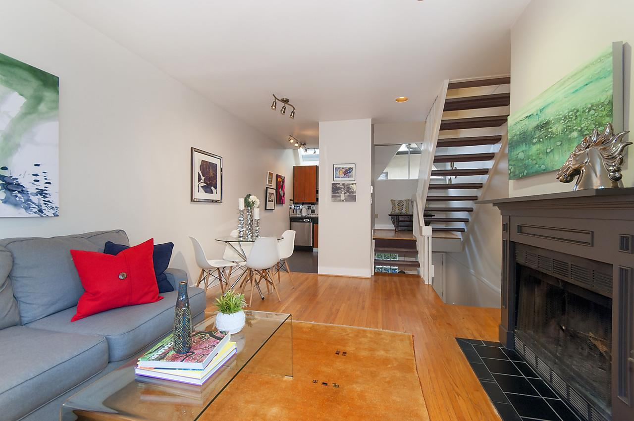 "Main Photo: 2415 W 6TH Avenue in Vancouver: Kitsilano Townhouse for sale in ""Cute Place In Kitsilano"" (Vancouver West)  : MLS®# R2129865"
