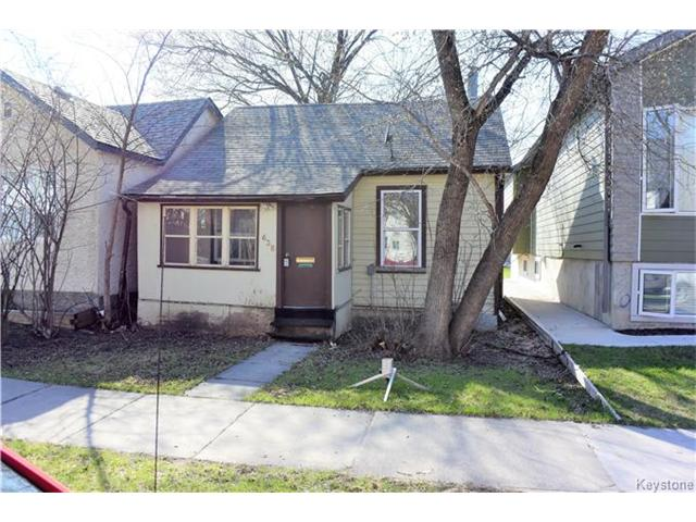 Main Photo: 638 Minto Street in Winnipeg: Sargent Park Residential for sale (5C)  : MLS® # 1704897