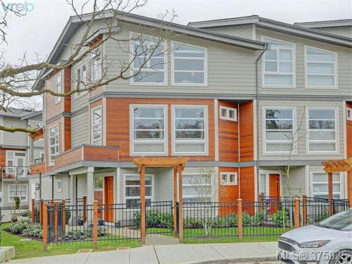 Main Photo: 4 3440 Linwood Avenue in VICTORIA: SE Maplewood Townhouse for sale (Saanich East)  : MLS® # 375925