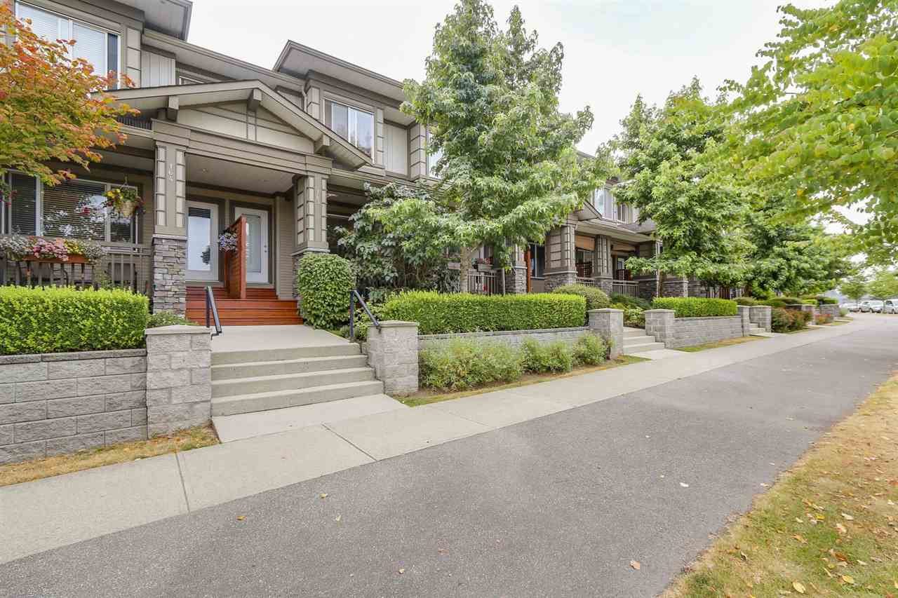 "Main Photo: 163 18701 66 Avenue in Surrey: Cloverdale BC Townhouse for sale in ""Encore at Hillcrest"" (Cloverdale)  : MLS® # R2191069"