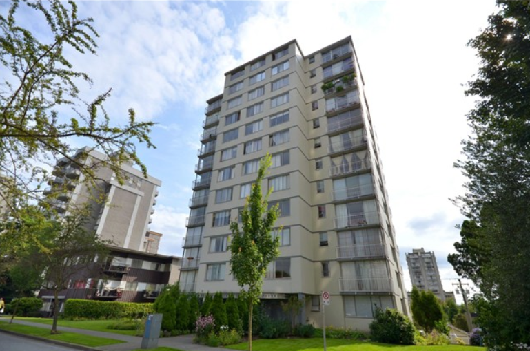 Main Photo: 808 1250 BURNABY STREET in Vancouver: West End VW Condo for sale (Vancouver West)  : MLS® # R2224439