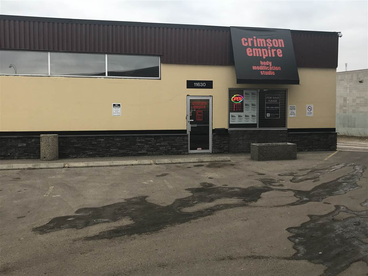 Main Photo: Unit 4 11630 119 Street in Edmonton: Zone 08 Retail for sale : MLS® # E4091200