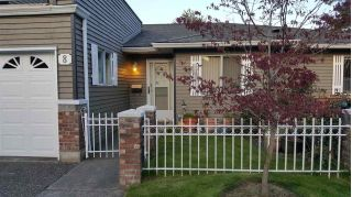 "Main Photo: 8 6280 48A Avenue in Delta: Holly Townhouse for sale in ""Garden Estates"" (Ladner)  : MLS®# R2260992"