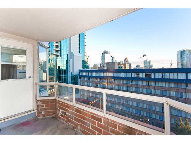 Main Photo: # 708 1330 HORNBY ST in Vancouver: Downtown VW Condo for sale (Vancouver West)  : MLS® # V946171