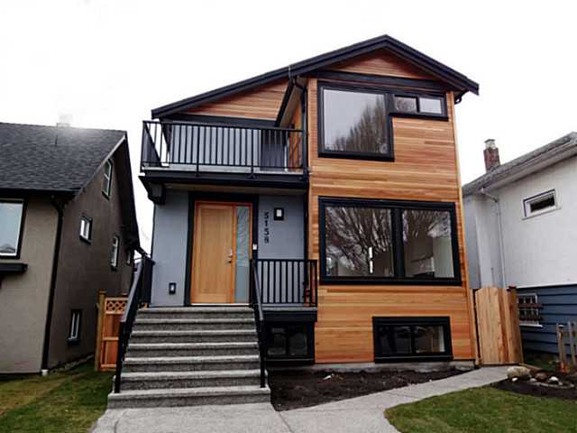Exterior Front: NEW custom-built unique house in desirable Fraser location!