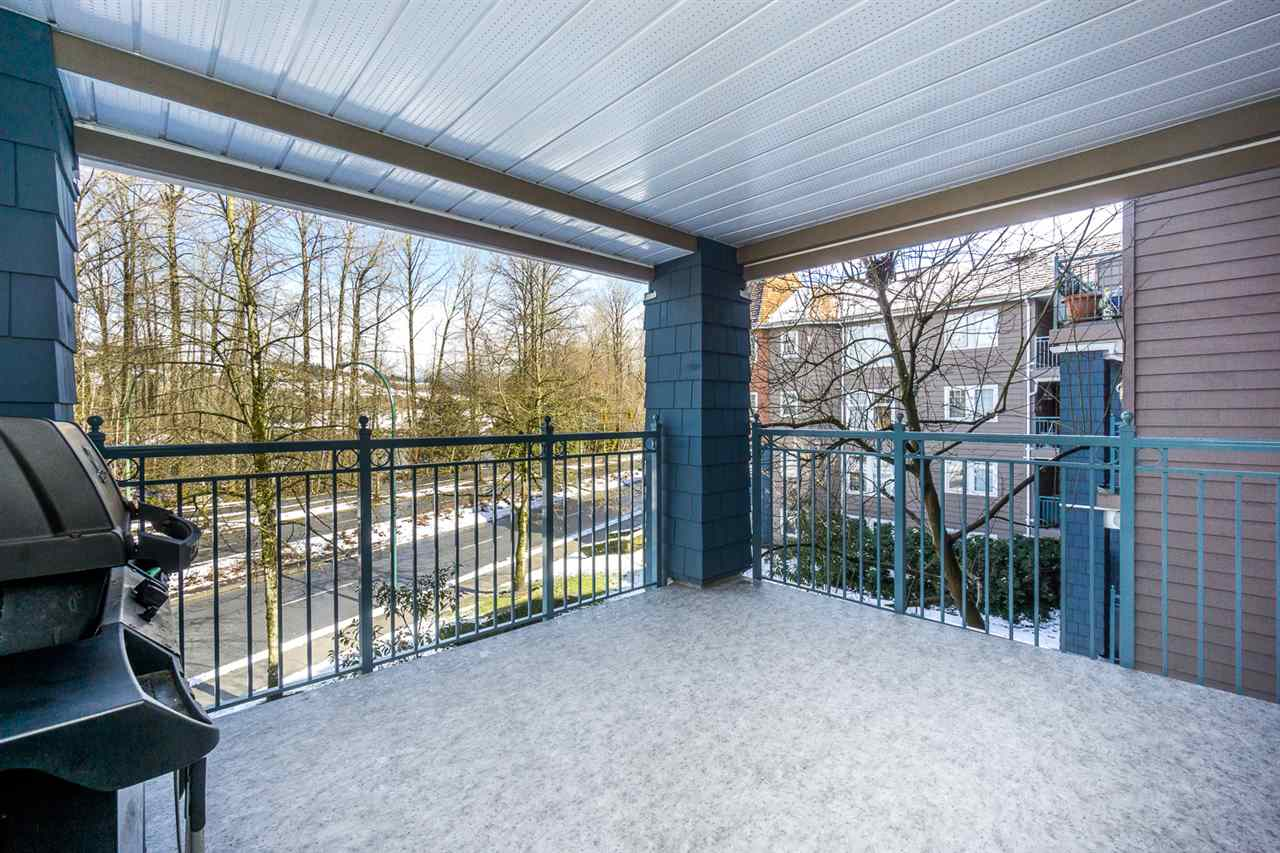 "Photo 19: 313 1200 EASTWOOD Street in Coquitlam: North Coquitlam Condo for sale in ""LAKESIDE TERRACE"" : MLS® # R2143728"