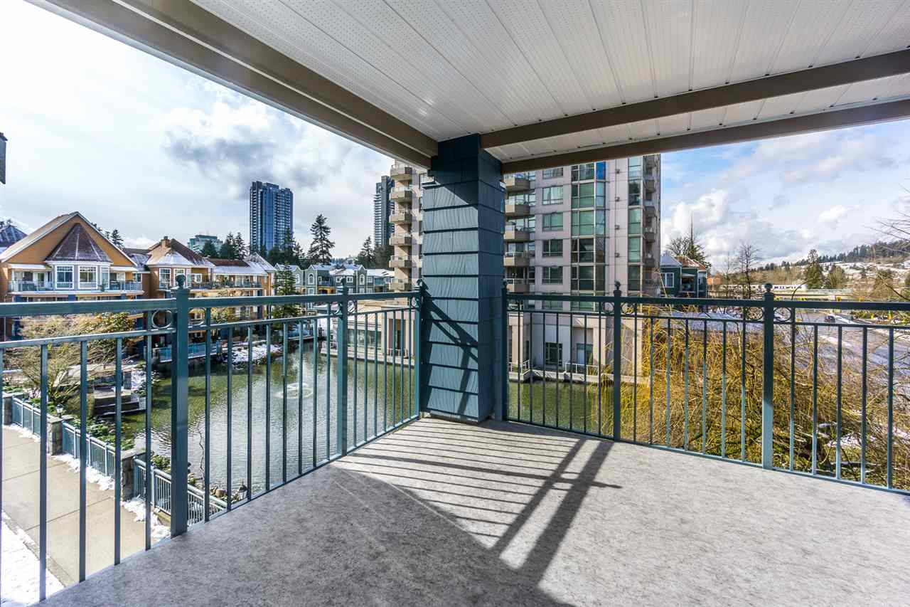 "Photo 18: 313 1200 EASTWOOD Street in Coquitlam: North Coquitlam Condo for sale in ""LAKESIDE TERRACE"" : MLS® # R2143728"