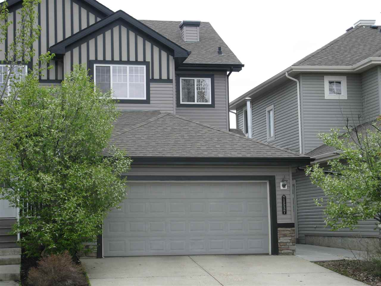 Main Photo: 1537 RUTHERFORD Road in Edmonton: Zone 55 House Half Duplex for sale : MLS(r) # E4055982