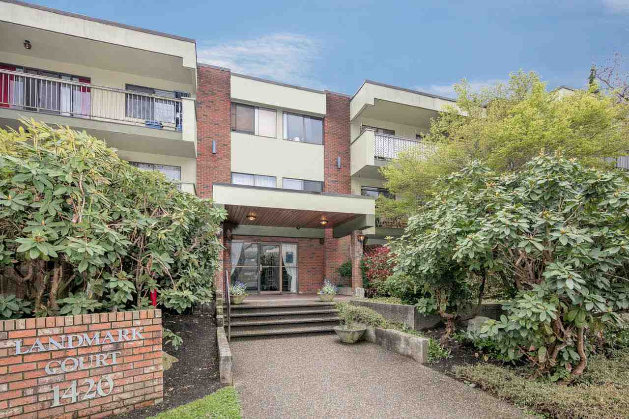 "Main Photo: 307 1420 E 7TH Avenue in Vancouver: Grandview VE Condo for sale in ""Landmark Court"" (Vancouver East)  : MLS(r) # R2158350"