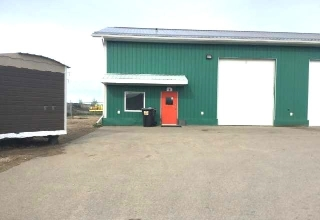 Main Photo: Bay 1 3370 33 Street in Whitecourt: Industrial for lease : MLS® # 43436