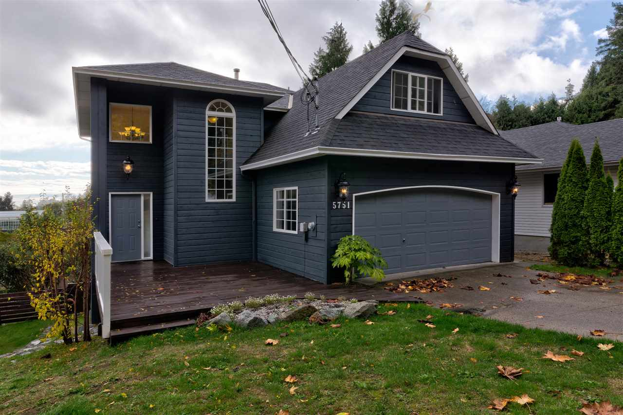 Main Photo: 5751 ANCHOR Road in Sechelt: Sechelt District House for sale (Sunshine Coast)  : MLS® # R2205697