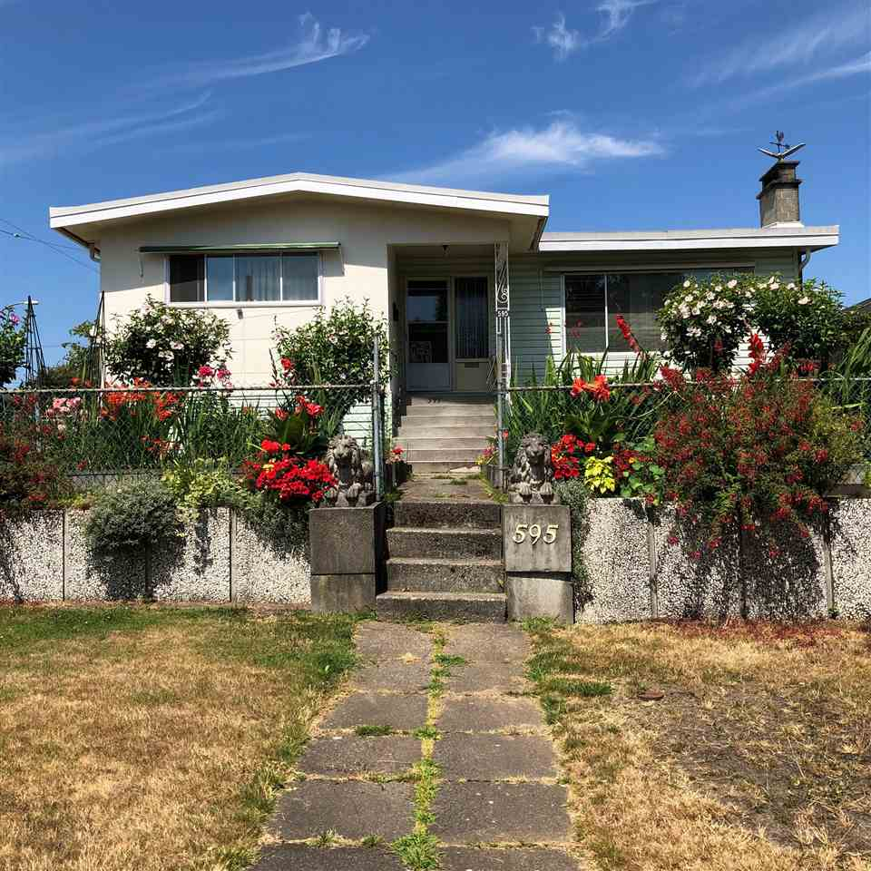 Main Photo: 595 W 65TH Avenue in Vancouver: Marpole House for sale (Vancouver West)  : MLS®# R2293760
