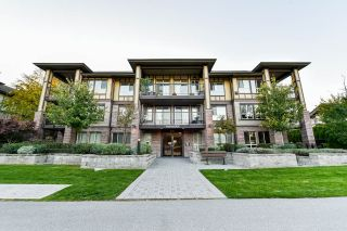 "Main Photo: 301 8733 160 Street in Surrey: Fleetwood Tynehead Condo for sale in ""Manarola"" : MLS®# R2313401"