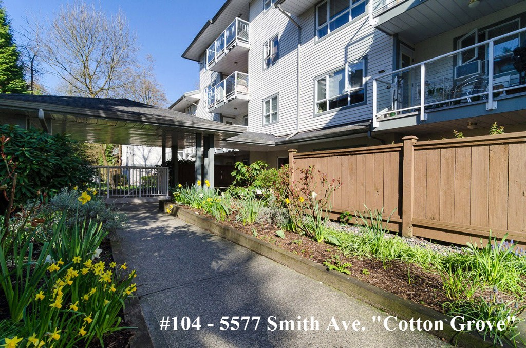 "Main Photo: 104 5577 SMITH Avenue in Burnaby: Central Park BS Condo for sale in ""Cotton Grove in Garden Village"" (Burnaby South)  : MLS® # V1055670"