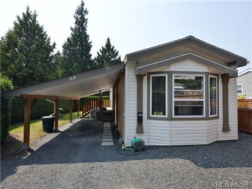 Main Photo: 65 2587 Selwyn Road in VICTORIA: La Mill Hill Manu Single-Wide for sale (Langford)  : MLS(r) # 353778