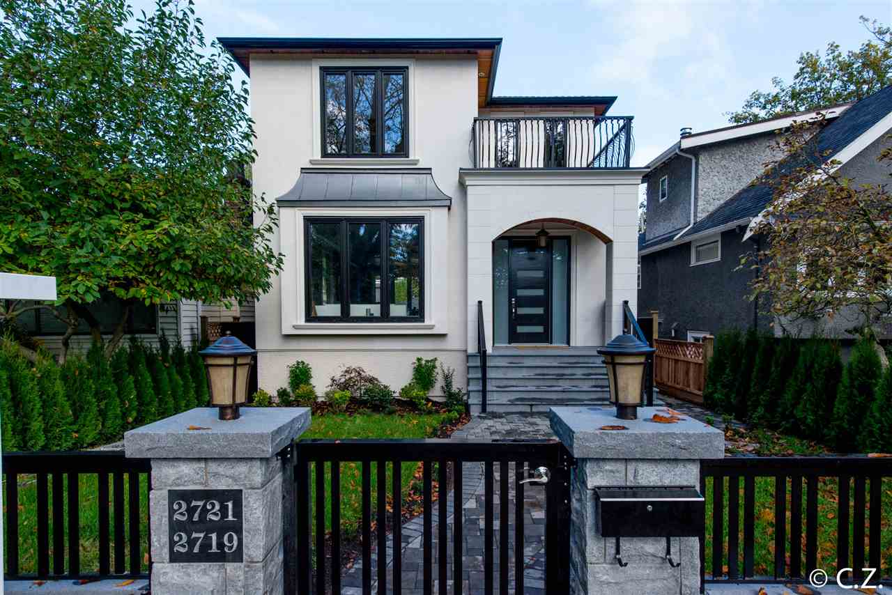 "Main Photo: 2721 W 14TH Avenue in Vancouver: Kitsilano House for sale in ""KITSILANO"" (Vancouver West)  : MLS® # R2007332"