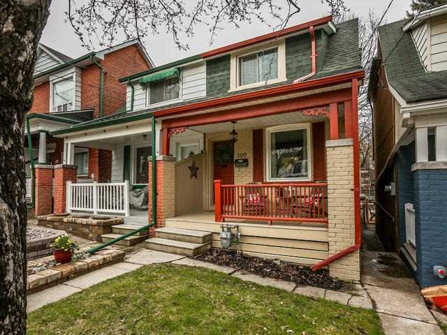 Main Photo: 309 Kenilworth Avenue in Toronto: The Beaches House (2-Storey) for sale (Toronto E02)  : MLS® # E3477274