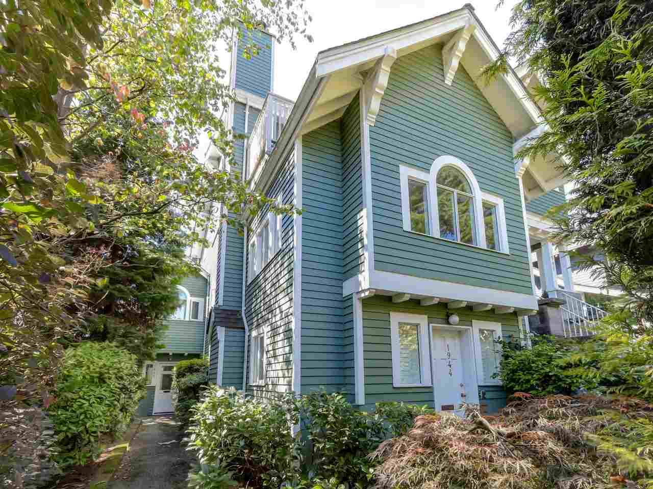 Main Photo: 1942 W 15TH Avenue in Vancouver: Kitsilano Townhouse for sale (Vancouver West)  : MLS® # R2088741