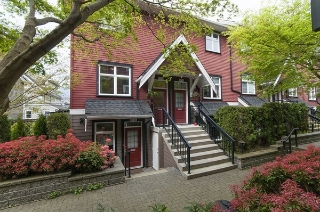 "Main Photo: 2270 ST. GEORGE Street in Vancouver: Mount Pleasant VE Townhouse for sale in ""The Vantage"" (Vancouver East)  : MLS(r) # R2159726"