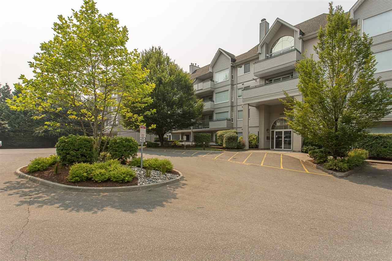 "Main Photo: 408 33708 KING Road in Abbotsford: Poplar Condo for sale in ""College Park Place"" : MLS®# R2195057"