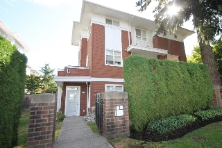 "Main Photo: 49 6528 DENBIGH Avenue in Burnaby: Forest Glen BS Townhouse for sale in ""OAKWOOD"" (Burnaby South)  : MLS® # R2206963"