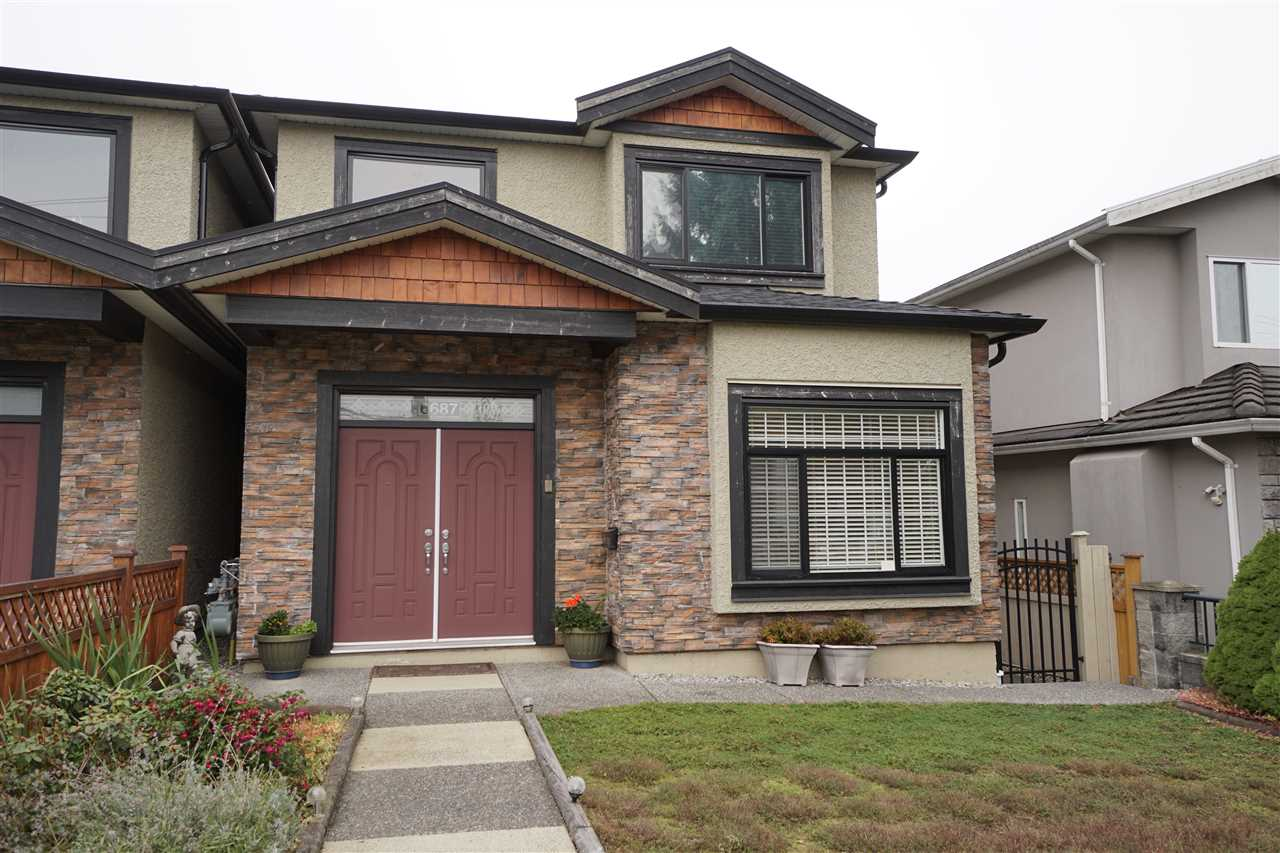 Main Photo: 6687 UNION Street in Burnaby: Sperling-Duthie House 1/2 Duplex for sale (Burnaby North)  : MLS® # R2218690