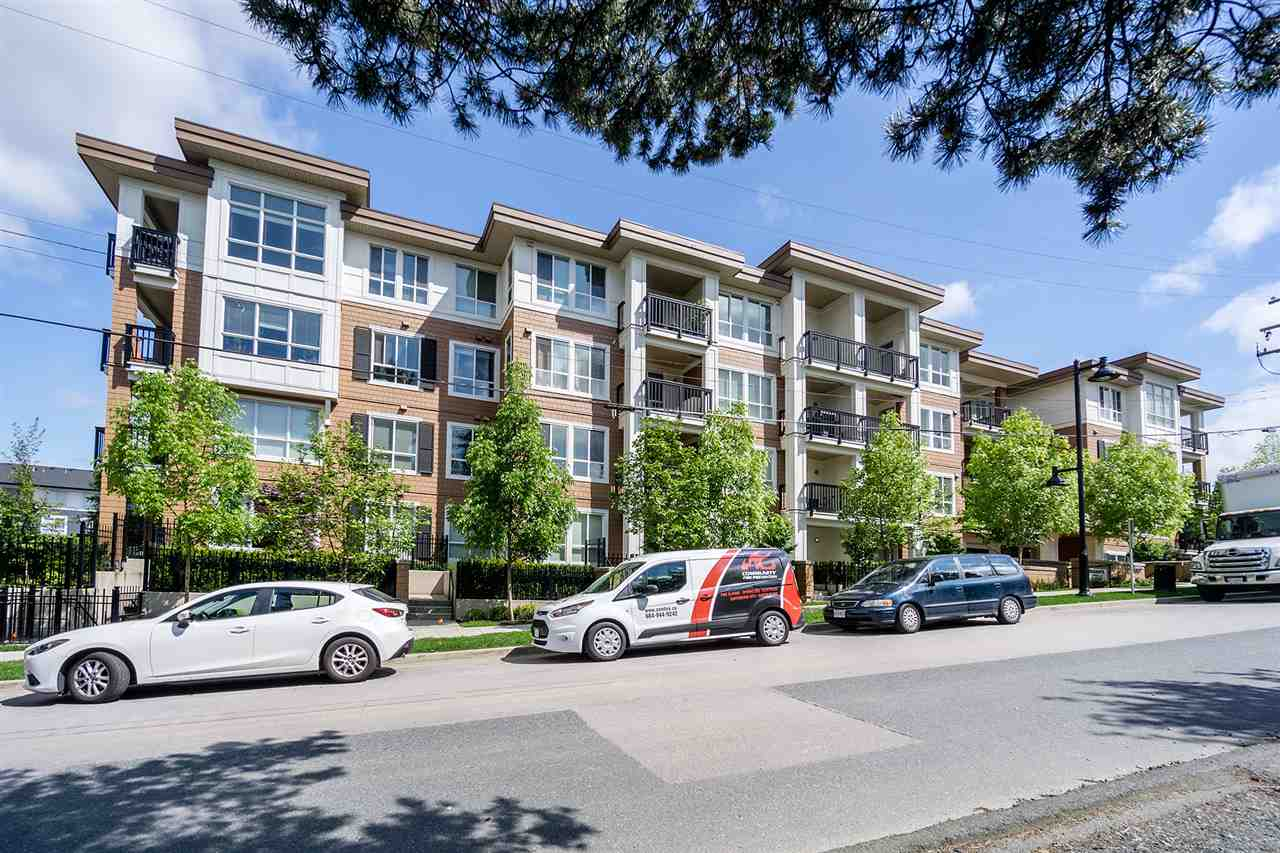 "Main Photo: 108 611 REGAN Avenue in Coquitlam: Coquitlam West Condo for sale in ""Regan's Walk"" : MLS®# R2268906"