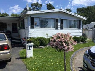 "Main Photo: 117 1840 160 Street in Surrey: King George Corridor Manufactured Home for sale in ""BREAK AWAY BAYS"" (South Surrey White Rock)  : MLS®# R2272633"