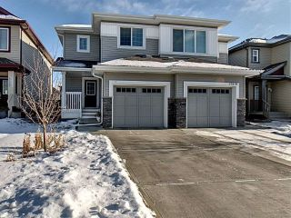 Main Photo: 17221 73 Street in Edmonton: Zone 28 House Half Duplex for sale : MLS®# E4135788