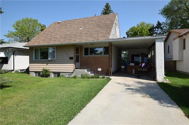 FEATURED LISTING: 233 BRUCE Avenue Winnipeg