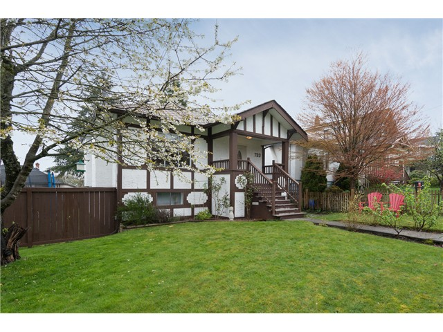 Main Photo: 733 SECOND Street in New Westminster: GlenBrooke North House for sale : MLS® # V1059631