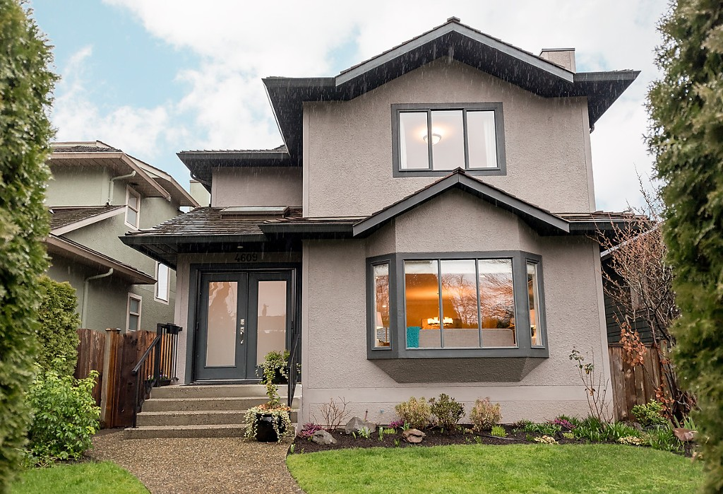 Beautifully updated family home in West Point Grey.
