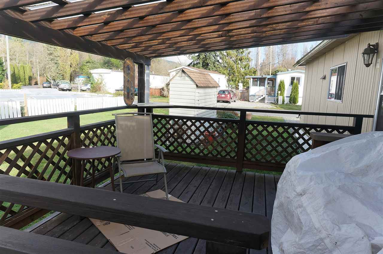 Covered Sundeck
