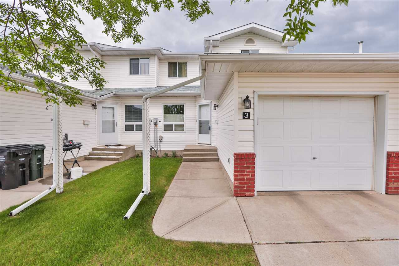 Main Photo: 3 15 RITCHIE Way: Sherwood Park House Half Duplex for sale : MLS(r) # E4067158