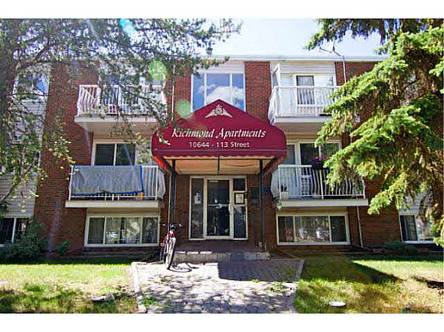 Main Photo: 206 10644 113 Street in Edmonton: Zone 08 Condo for sale : MLS® # E4068757
