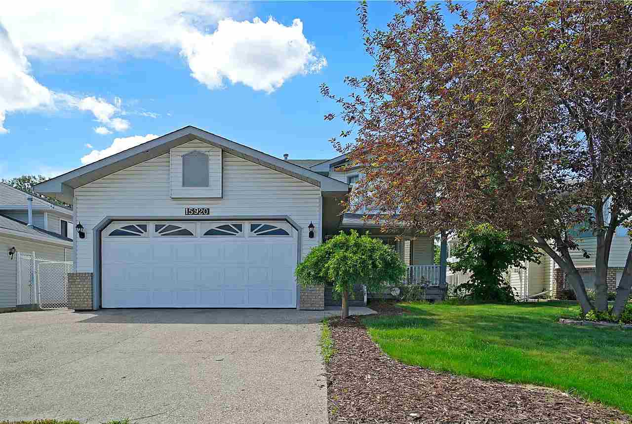 Main Photo: 15920 59 Street NW in Edmonton: Zone 03 House for sale : MLS(r) # E4069798