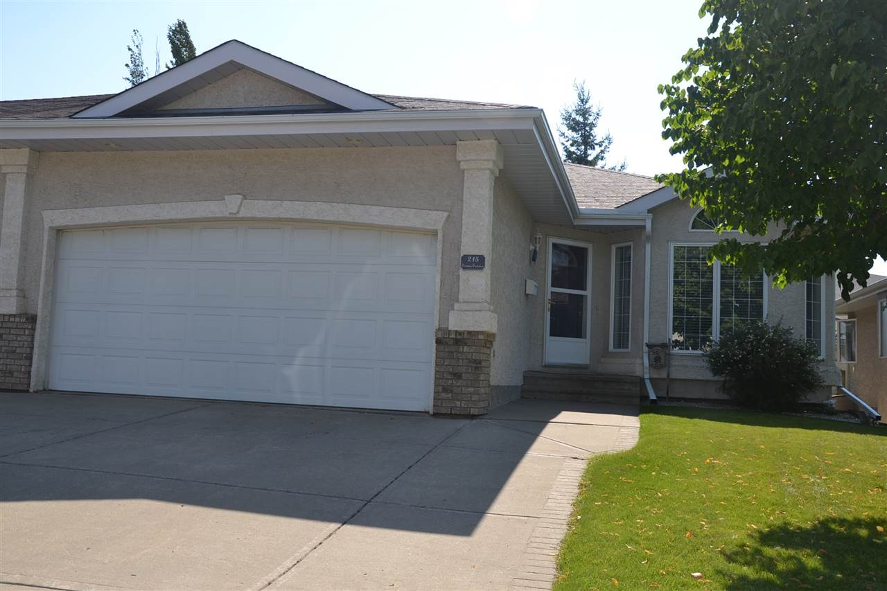 Main Photo: 215 YOUVILLE Drive E in Edmonton: Zone 29 House Half Duplex for sale : MLS® # E4078261